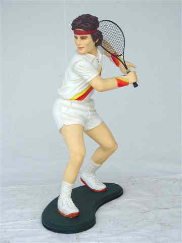 Tennis Player Statue 3ft