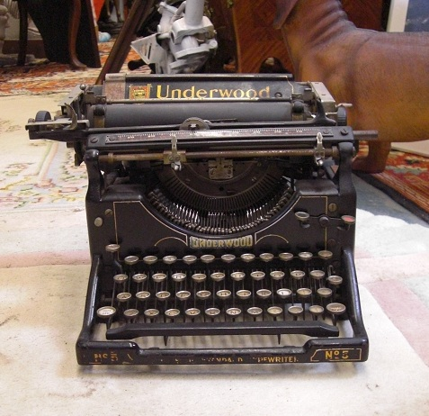 "Old ""Underwood"" Typewriter"