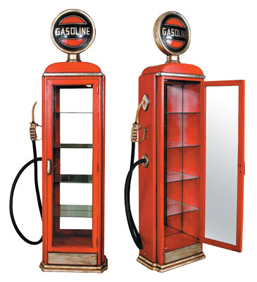 Gas Pump Cabinet